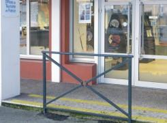 Installation d'une barrière de sécurité